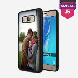 Coque Galaxy J5 personnalisée avec côtés rigides unis lakokine