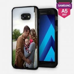 Coque Samsung Galaxy A5 2017 personnalisée avec côtés rigides unis lakokine