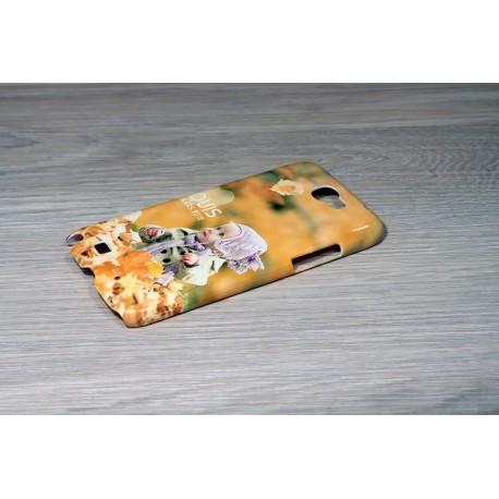 Coque rigide Galaxy Note 2 personnalisée avec côtés imprimés