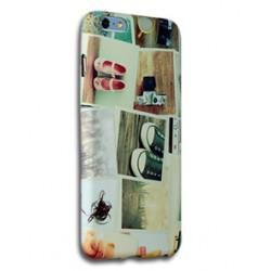 Coque silicone iPhone 6 Plus personnalisée avec côtés imprimés