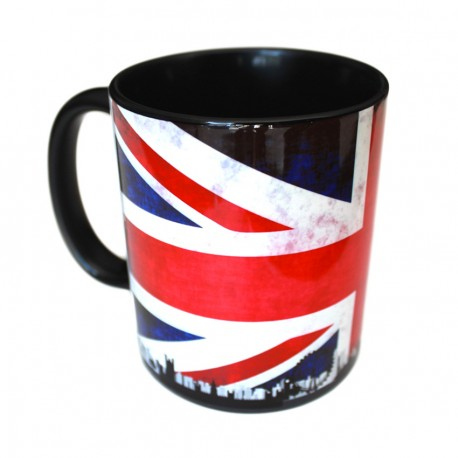 Personalized black photo mug, customization of mug lakokine