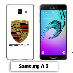 Coque Samsung A5 Logo Porsch