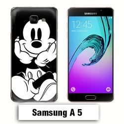 Coque Samsung A5 Mickey Disney Noir et Blanc