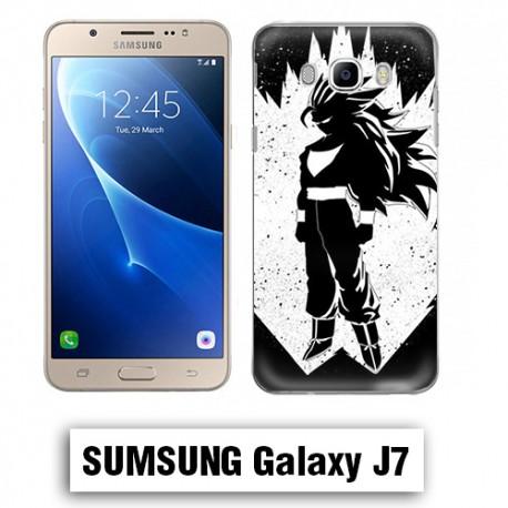 Coque Samsung J3 dragon ball super saiyan Vigita