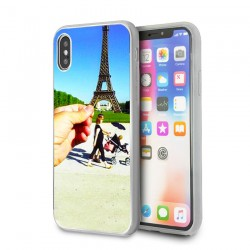 Custom iPhone XR case with solid rigid sides lakokine
