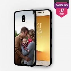 Coque Galaxy J7 2017 personnalisée avec côtés rigides unis lakokine