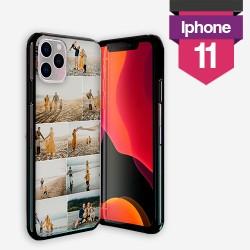 Personalisierte iPhone 11 Hülle mit Silikonseiten