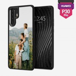 Personalized Huawei P30 Pro hard case with plain sides